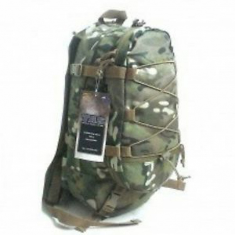 TAS 3699 MULTICAM HYDRATION POUCH MOLLE MILITARY #FREE 2L WIDE MOUTH BLADDER