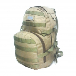 62779ffb1610 20L DUAL HYDRATION DAY PACK KHAKI 1202